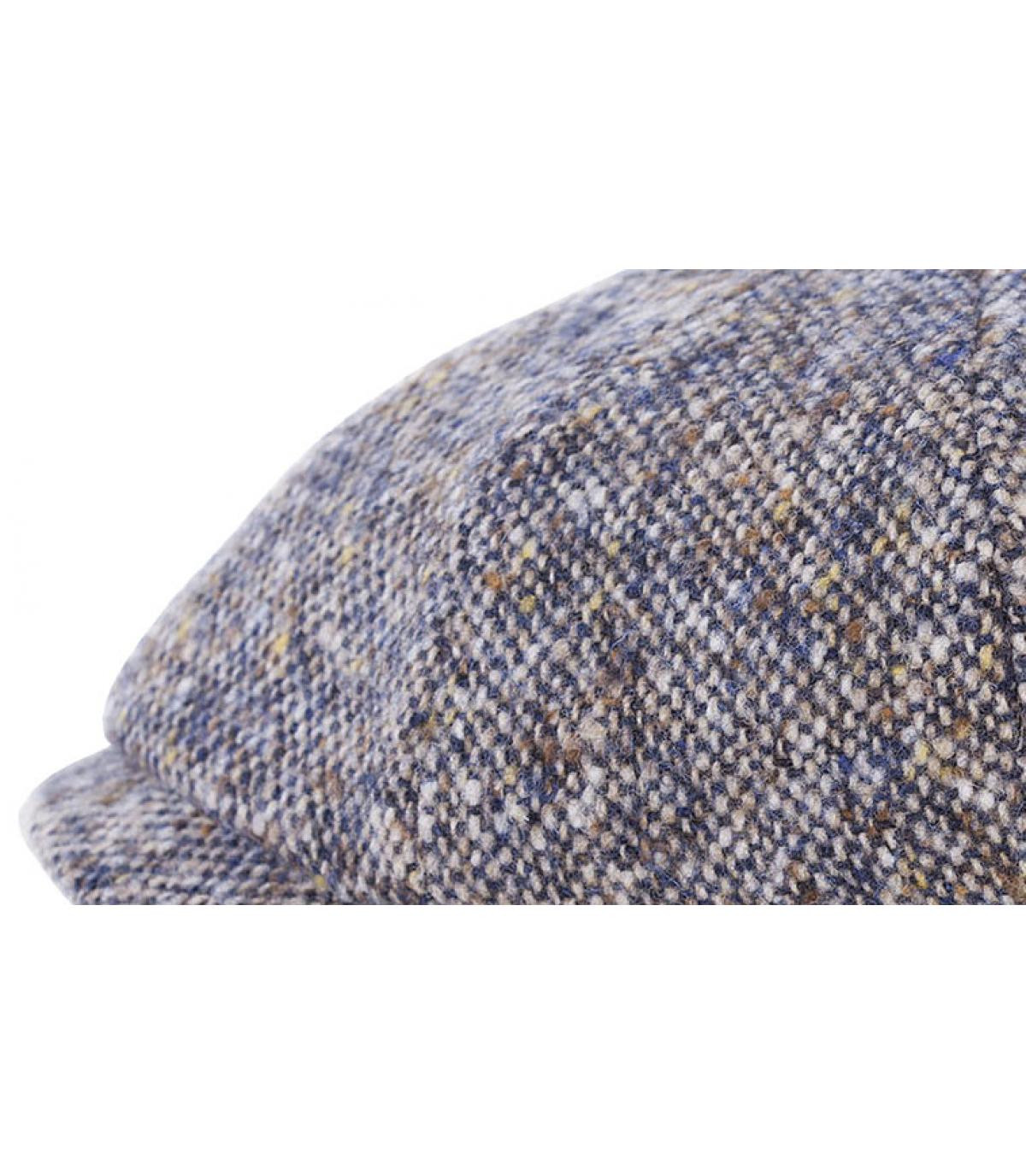 Détails Hatteras herringbone wool blue - image 2
