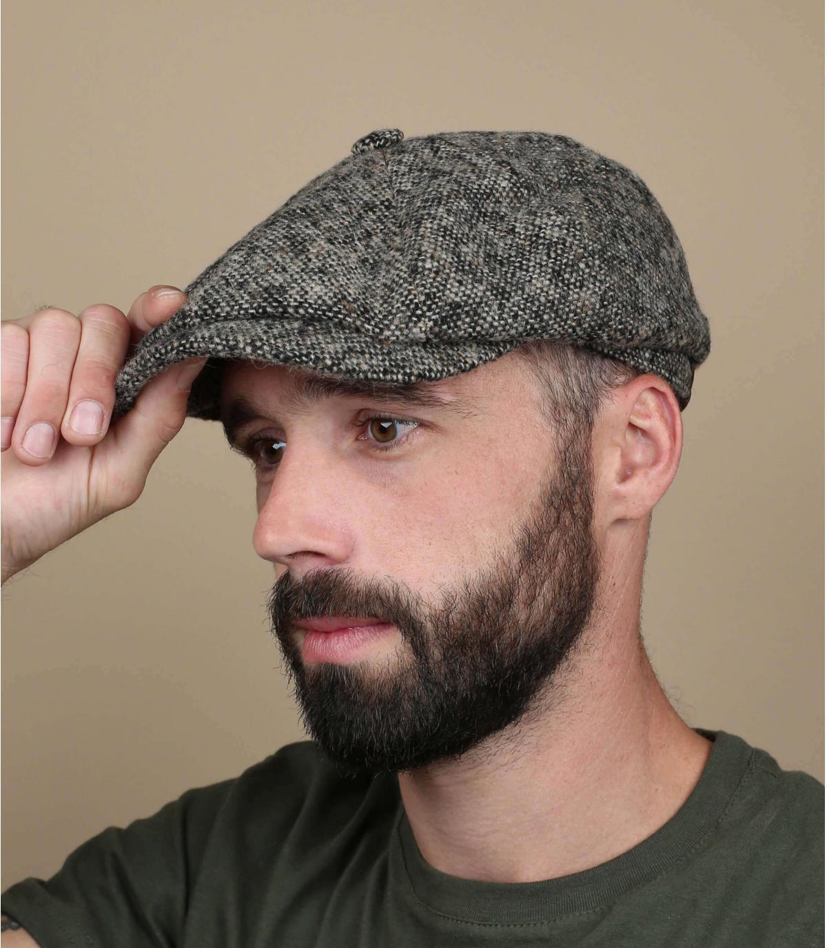 Rough wool cap