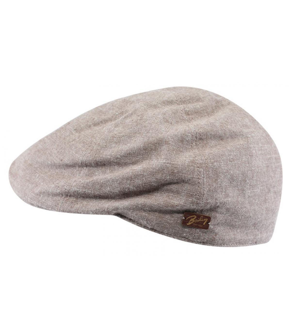 light brown duckbill cap