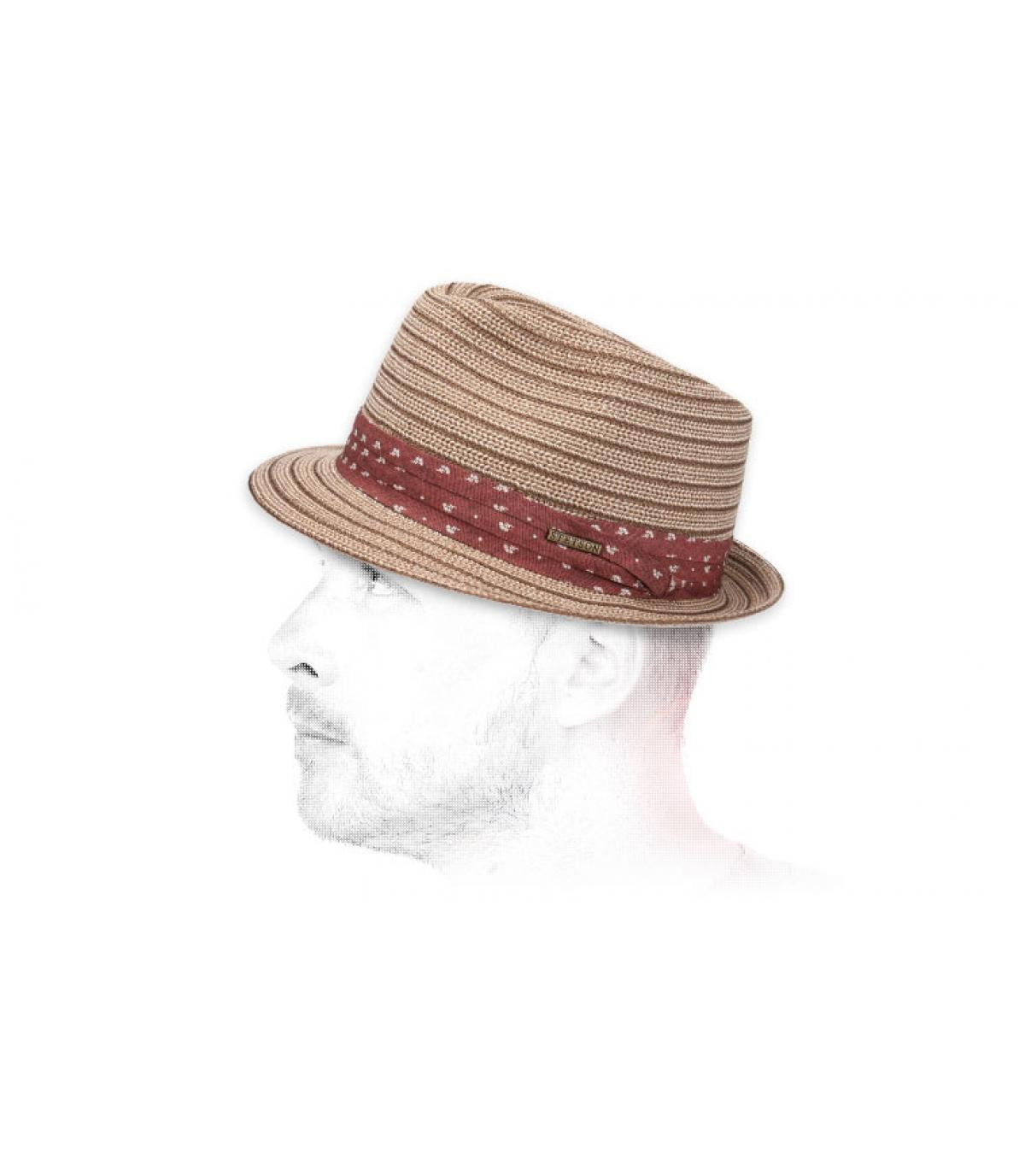 Stetson two coloured trilby