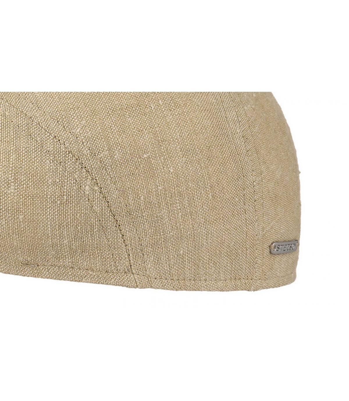 Détails Ivy cap llinen silk beige - image 3