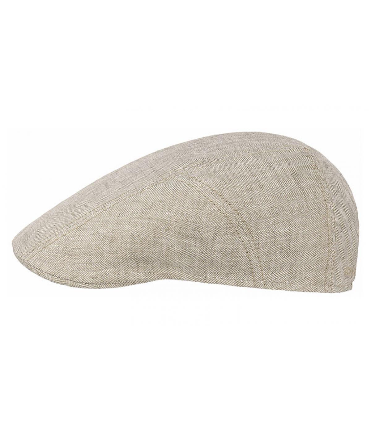 Détails Ivy cap linen beige - image 2
