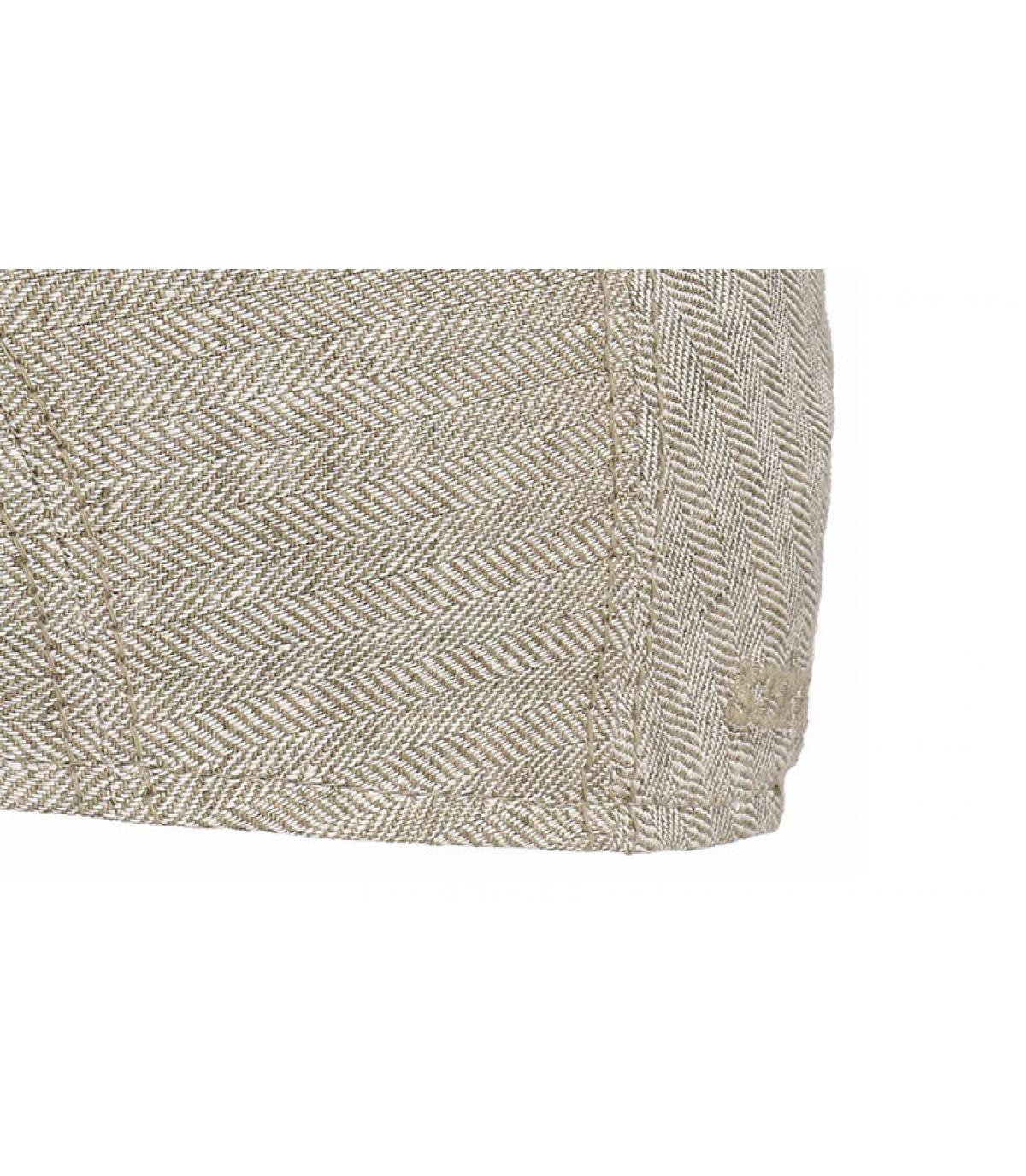 Détails Ivy cap linen beige - image 3