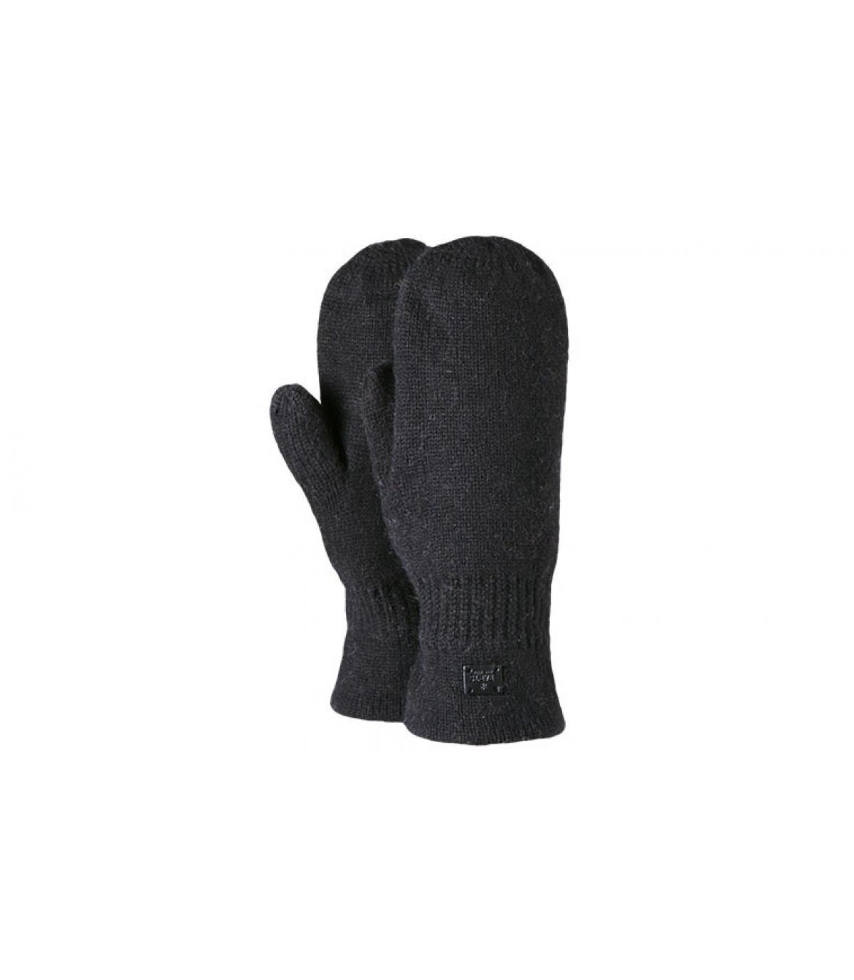 Black alisha mitts