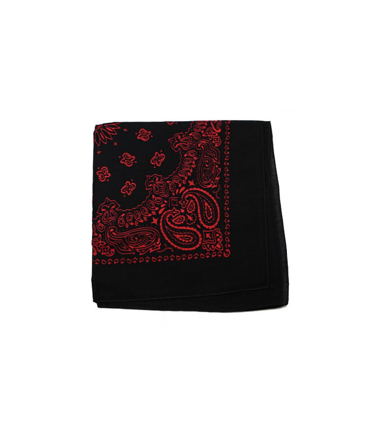 red black bandana