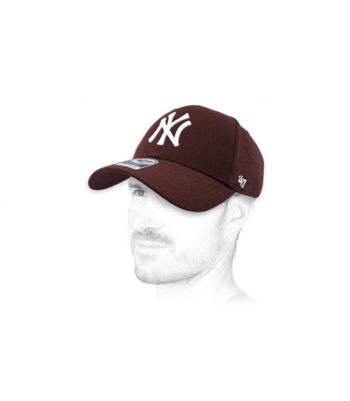 burgundy NY cap47