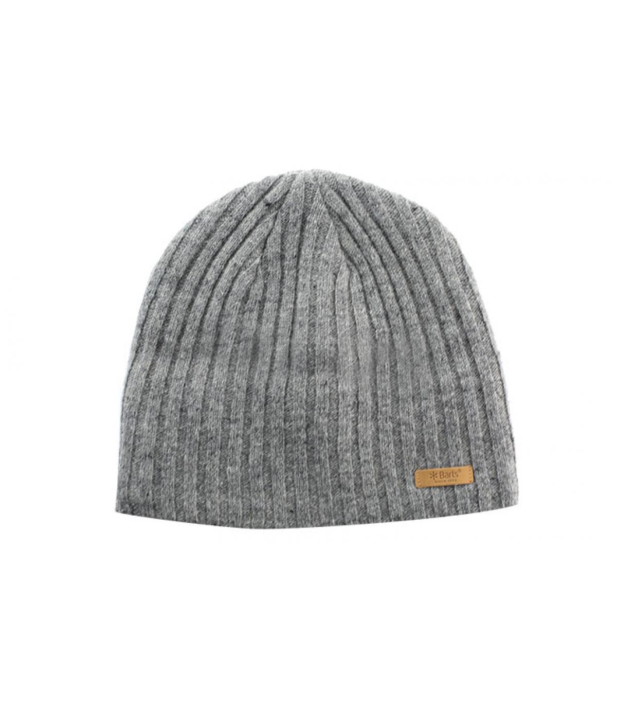 Grey haakon beanie