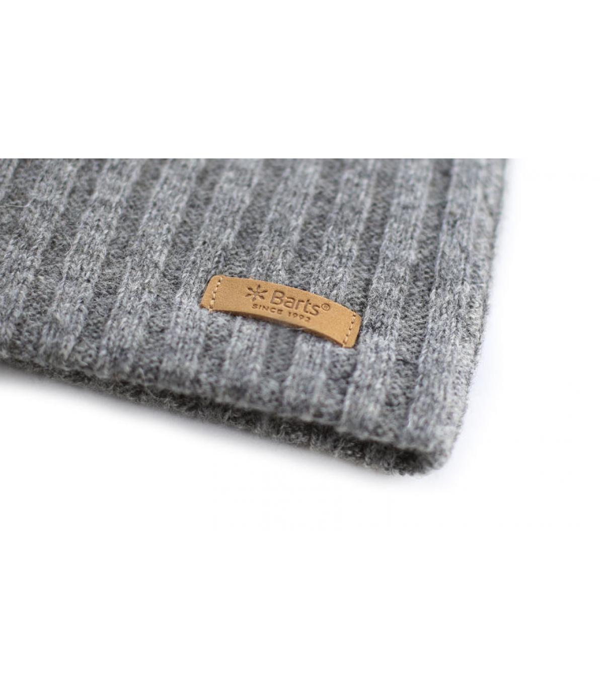 Détails Haakon beanie heather grey - image 3