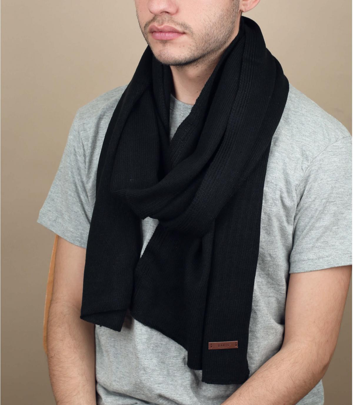 Black james scarf