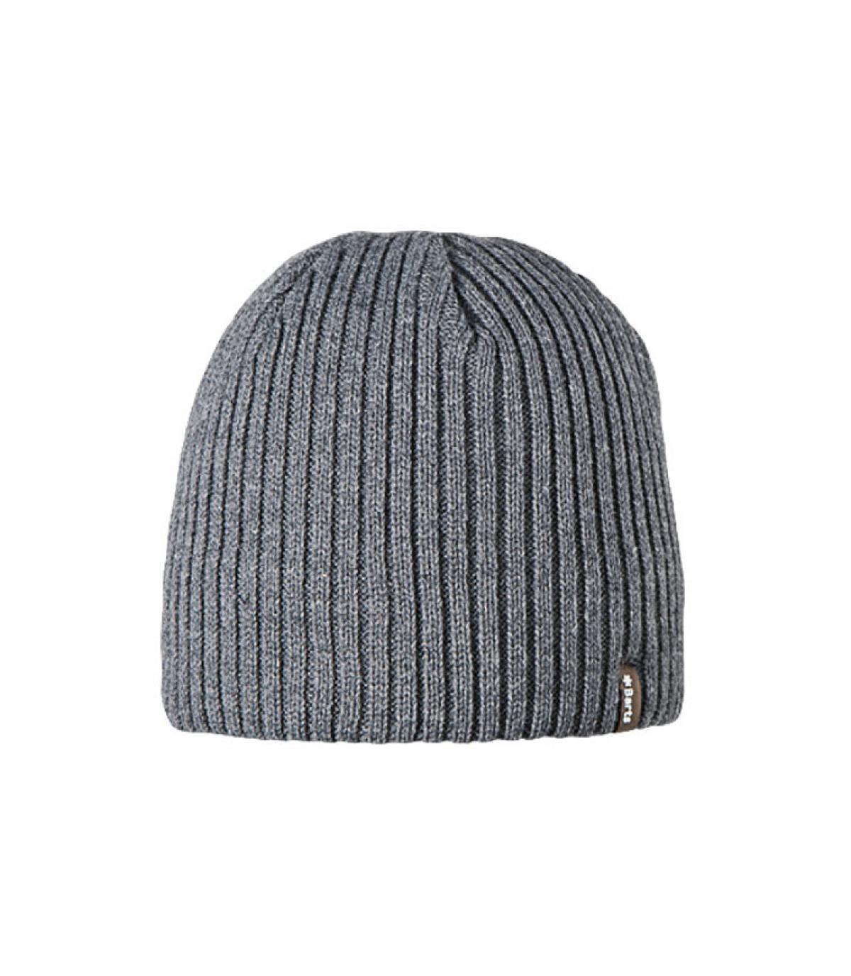 Grey wilbert beanie