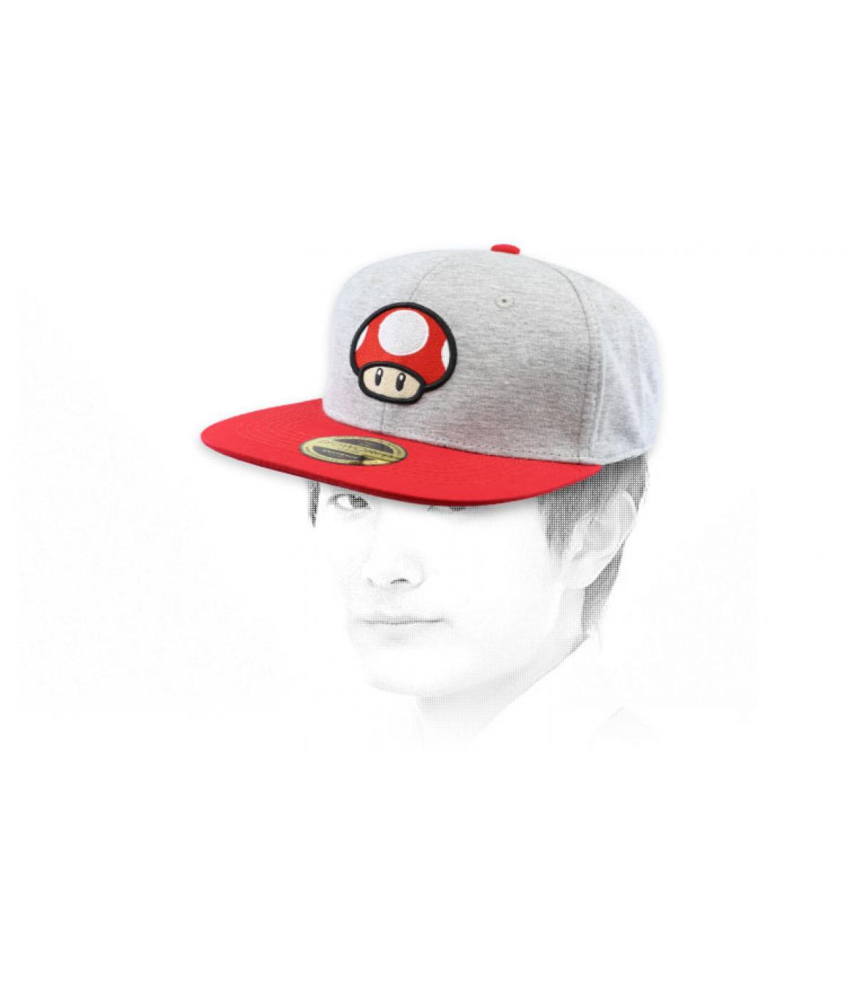 mushroom snapback Mario