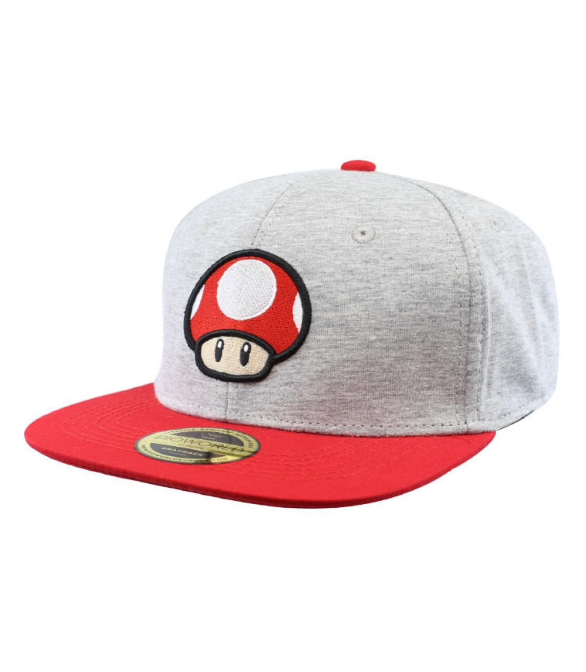 mushroom snapback Mario - Snapback Mushroom Nintendo by Bioworld ... 548cf259e66