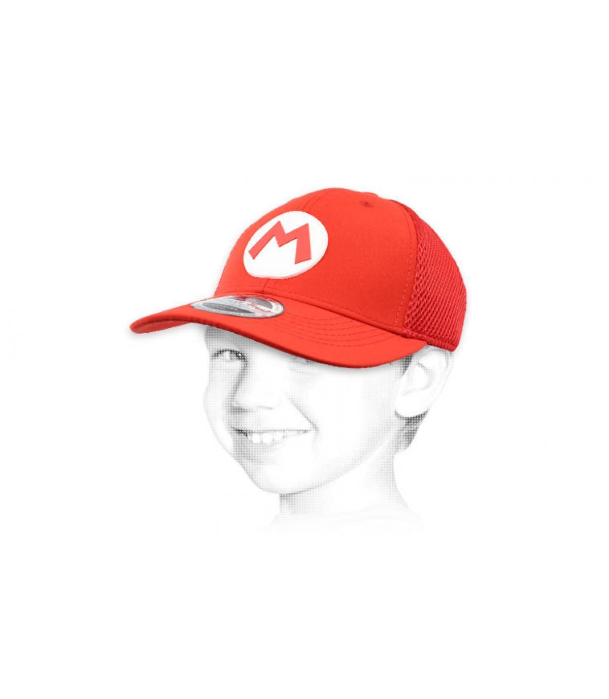 kids Mario cap