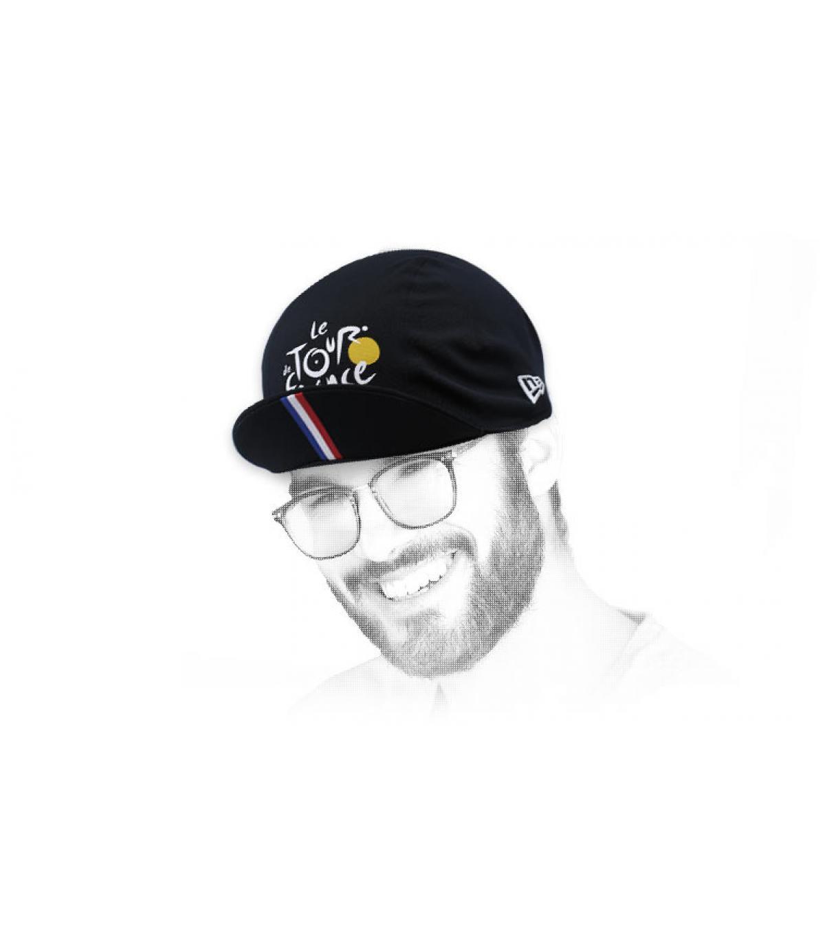Tour de France cycling cap