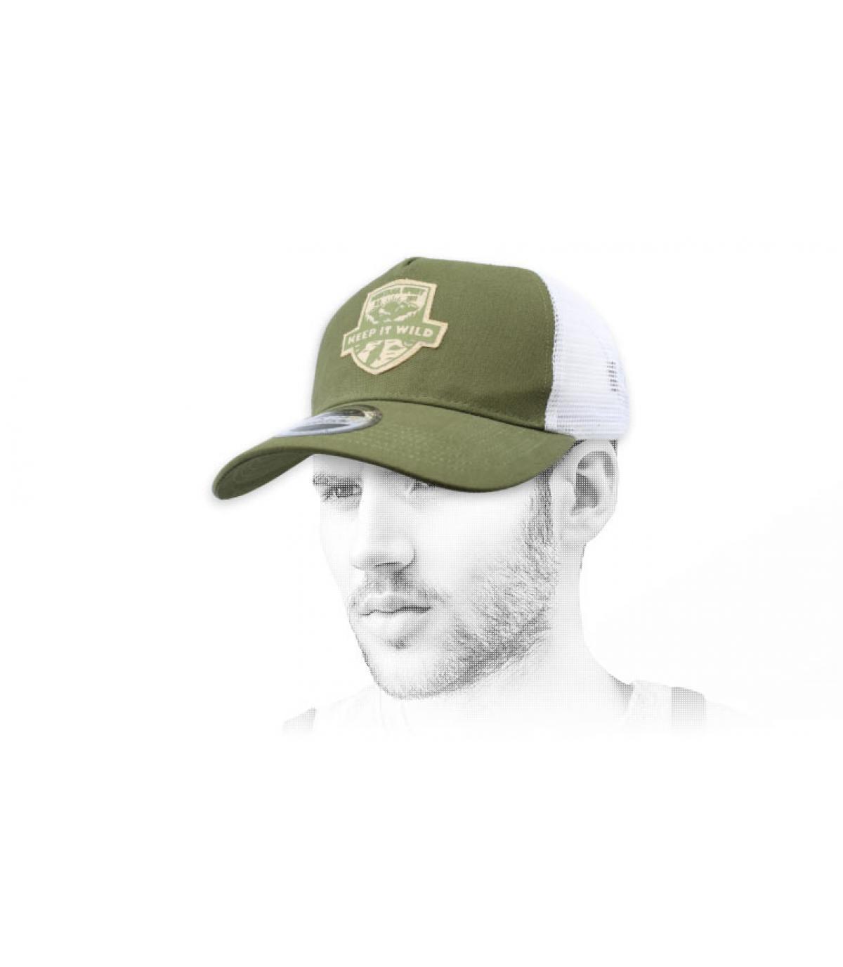 green Wild trucker