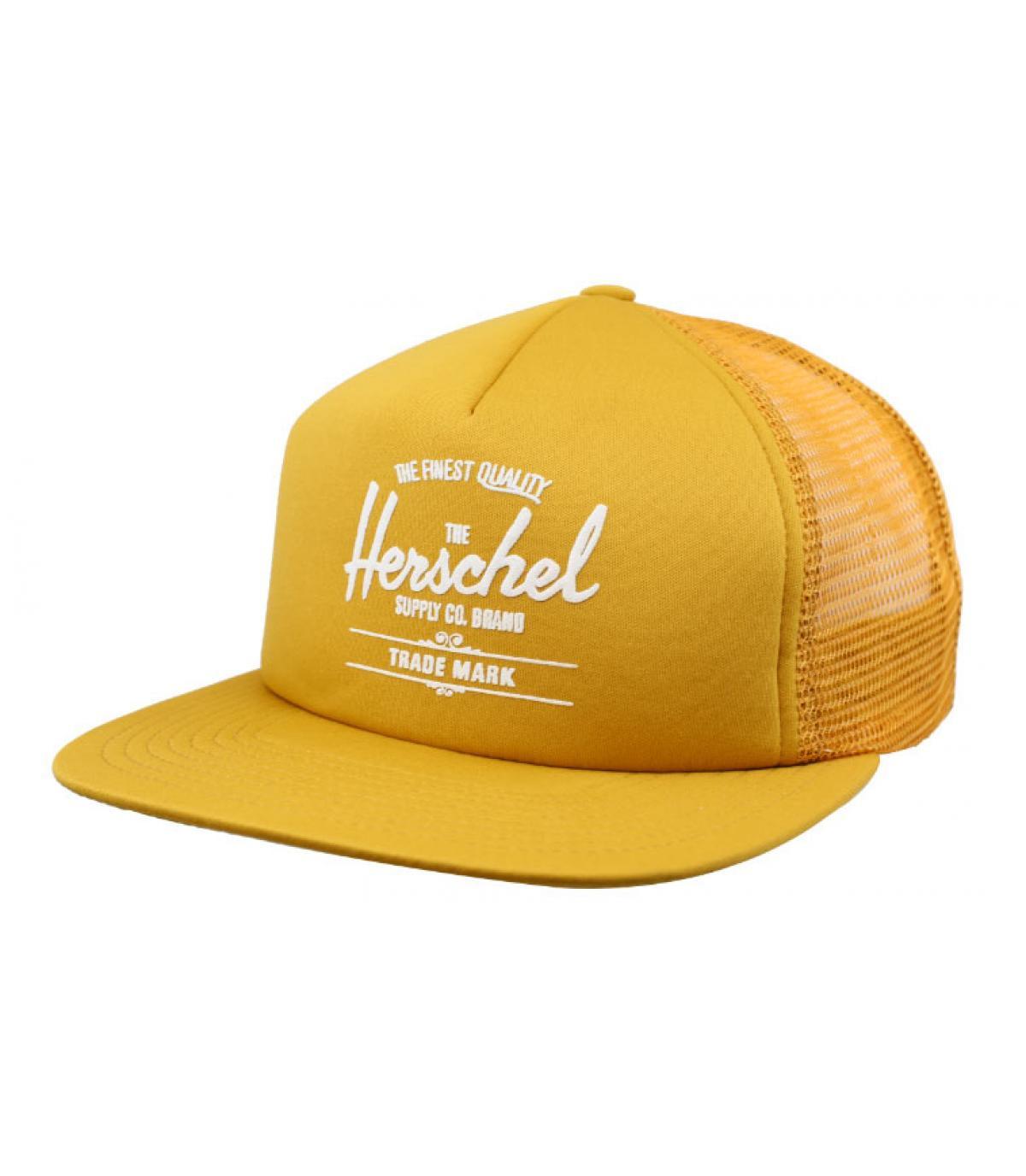 yellow Herschel trucker cap - Whaler Mesh arrowwood Herschel - image 1 ... cb58fe62f92