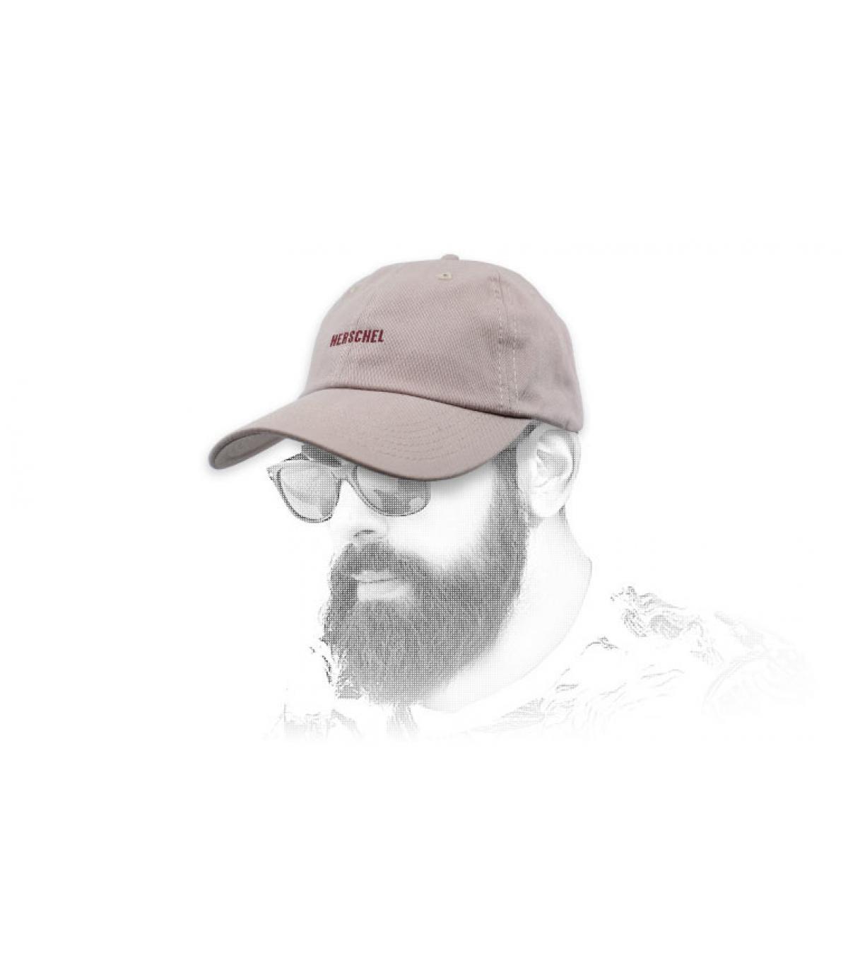 pink Herschel cap