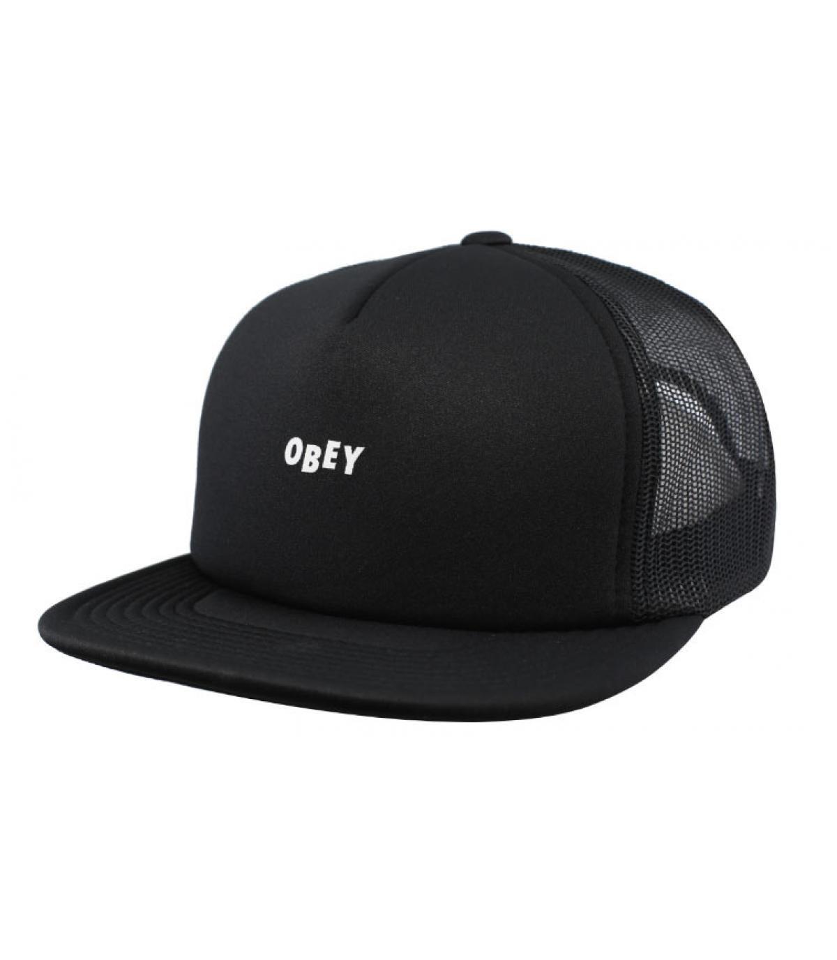 black Obey trucker - Trucker Jumble Bar black by Obey. Headict cf229d7b82d
