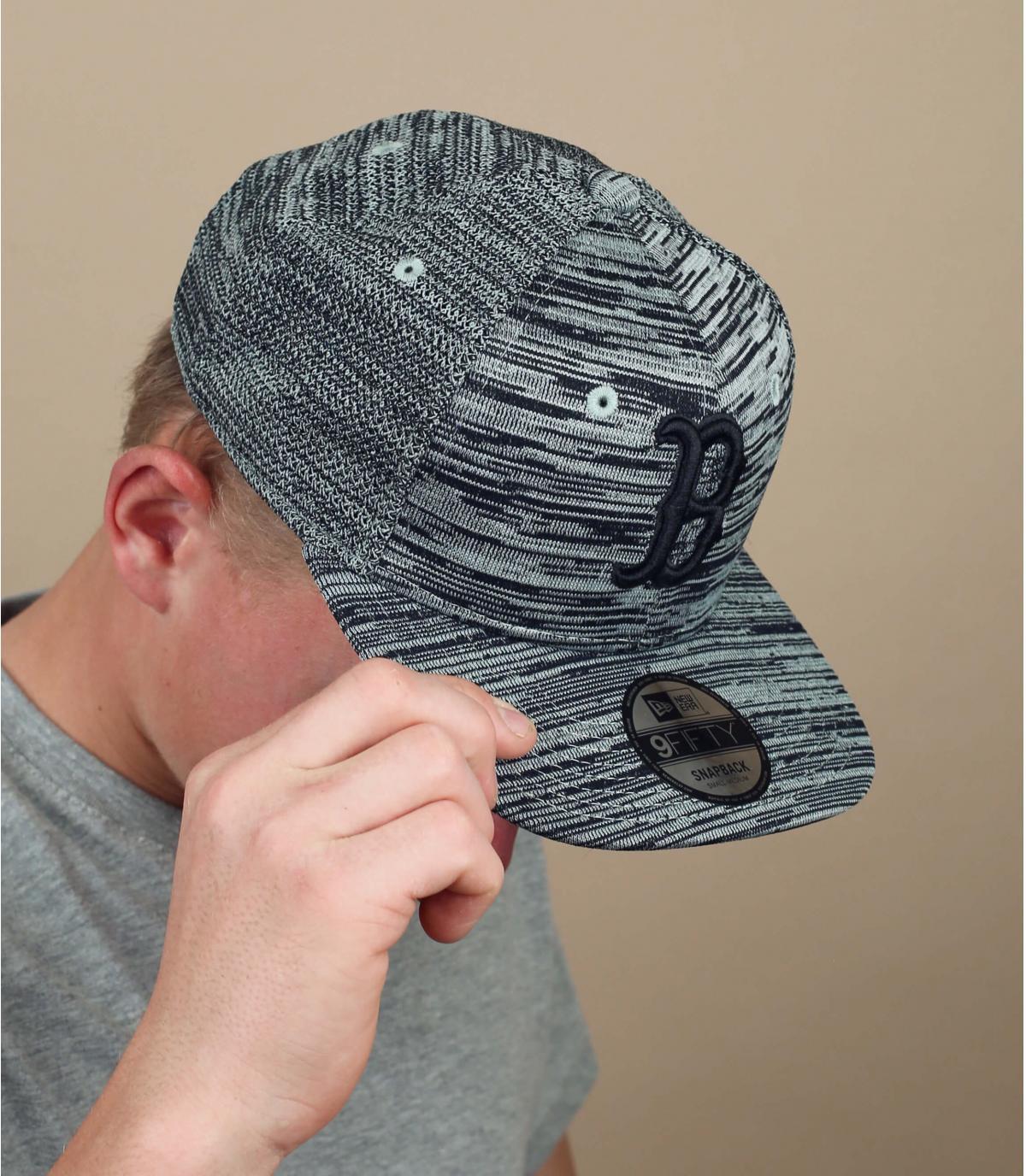 B Engineered snapback grey