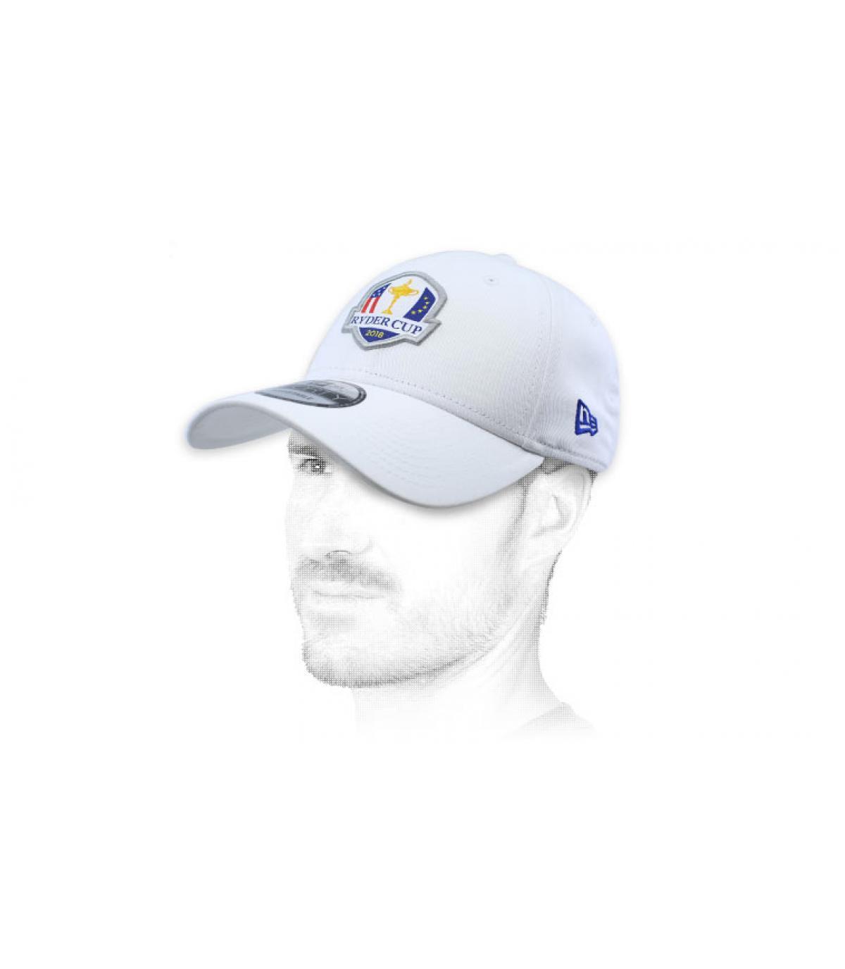 white Ryder Cup golf cap