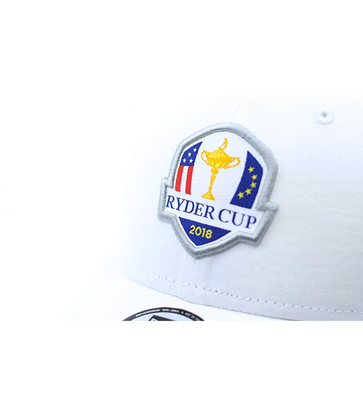 a21803d2b4d white Ryder Cup golf cap - Ryder Cup Ess 9Forty white by New Era ...