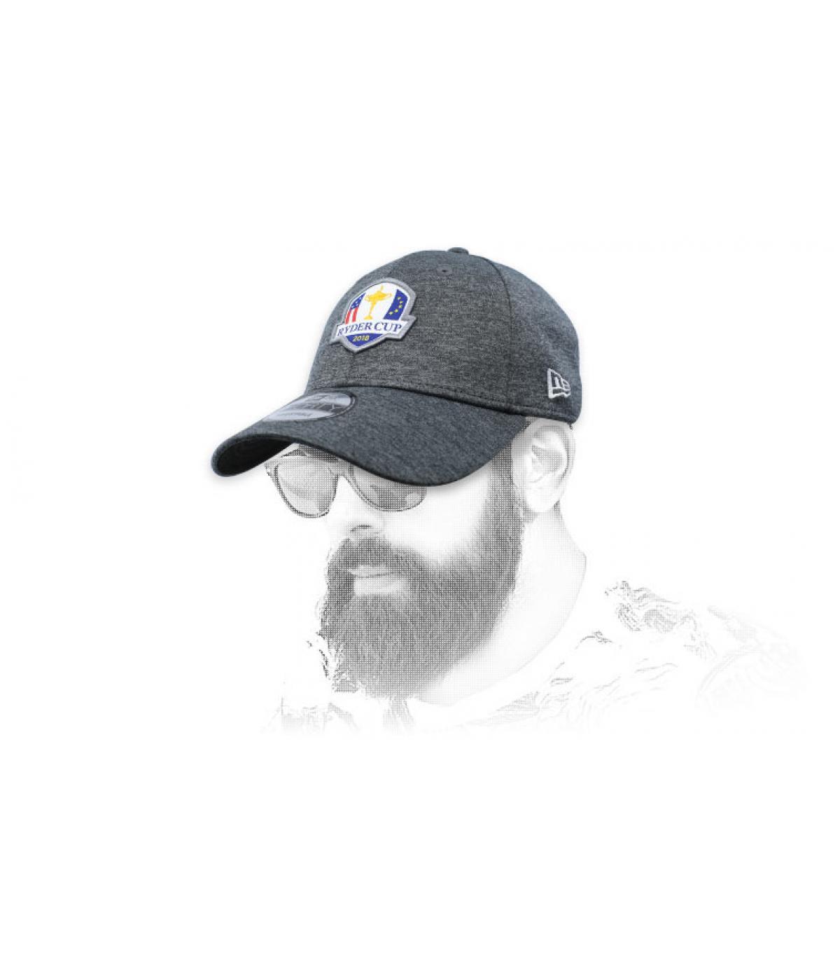 grey Ryder Cup golf cap