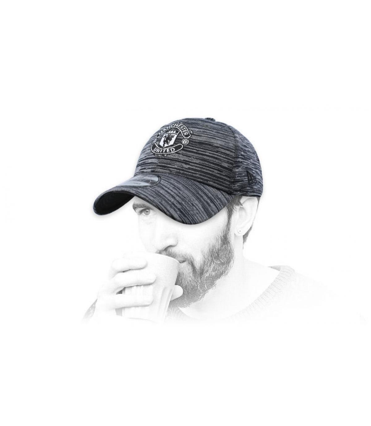 black Manchester cap