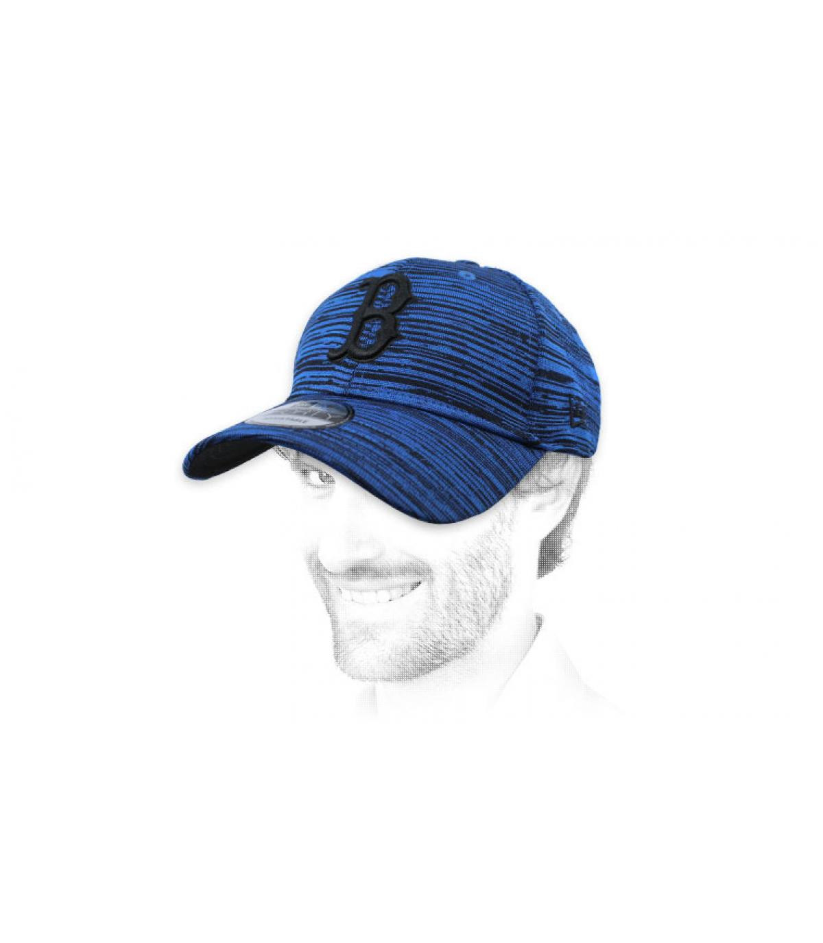 blue B cap Engineered
