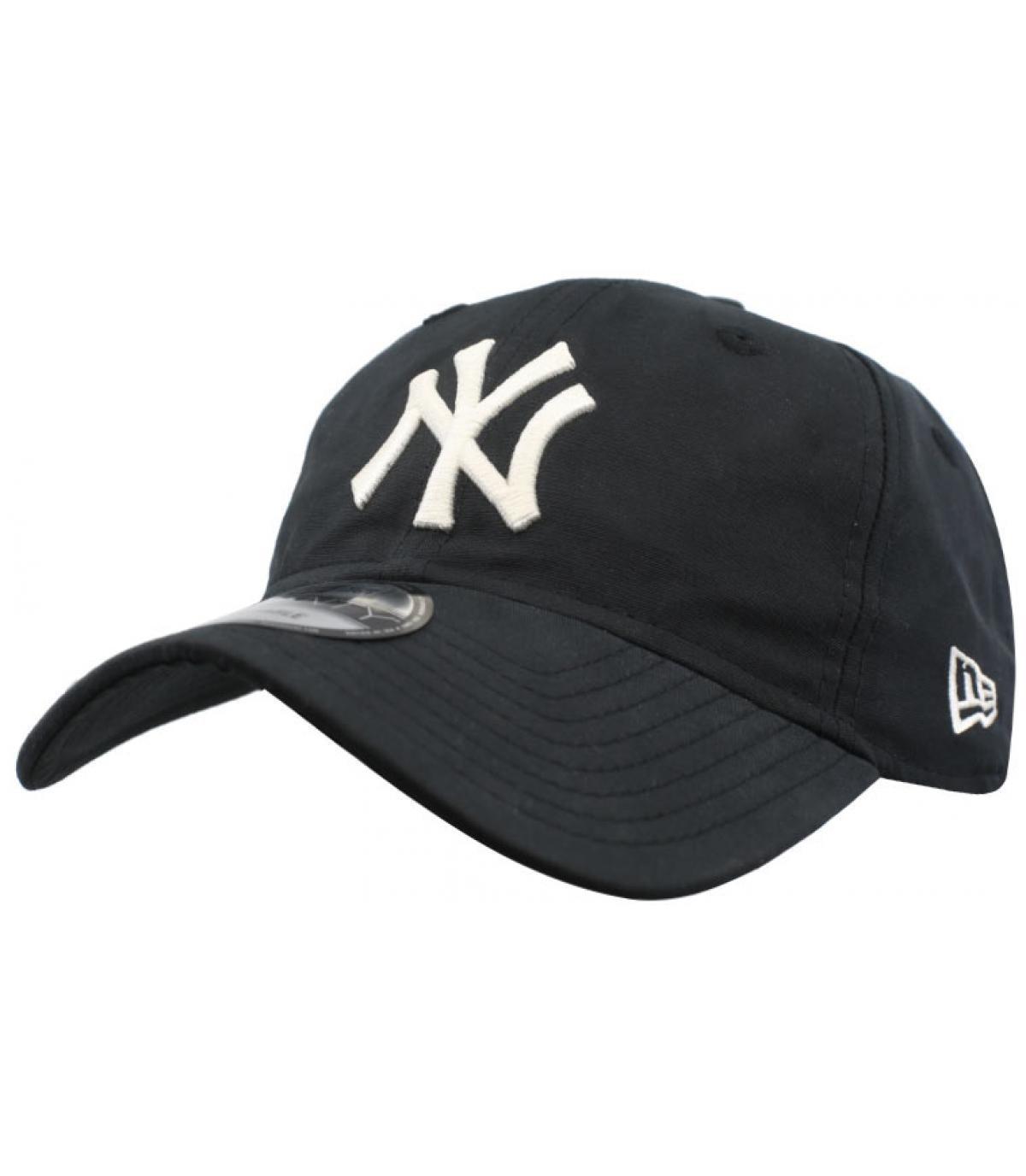 black packable NY cap - Light Wight Nylon Packable 9Twenty NY black ... a6f35855c4e
