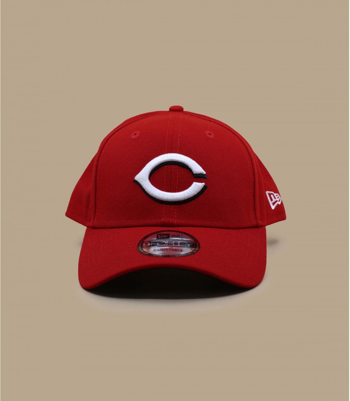 red C cap
