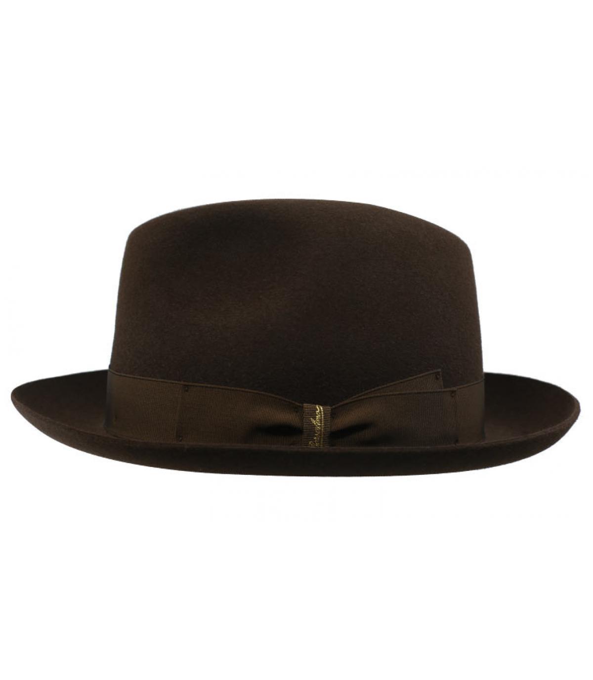 fedora rabbit brown Borsalino - Marengo brown Fur Felt Hat Borsalino -  image 1 ... 456b9704c03