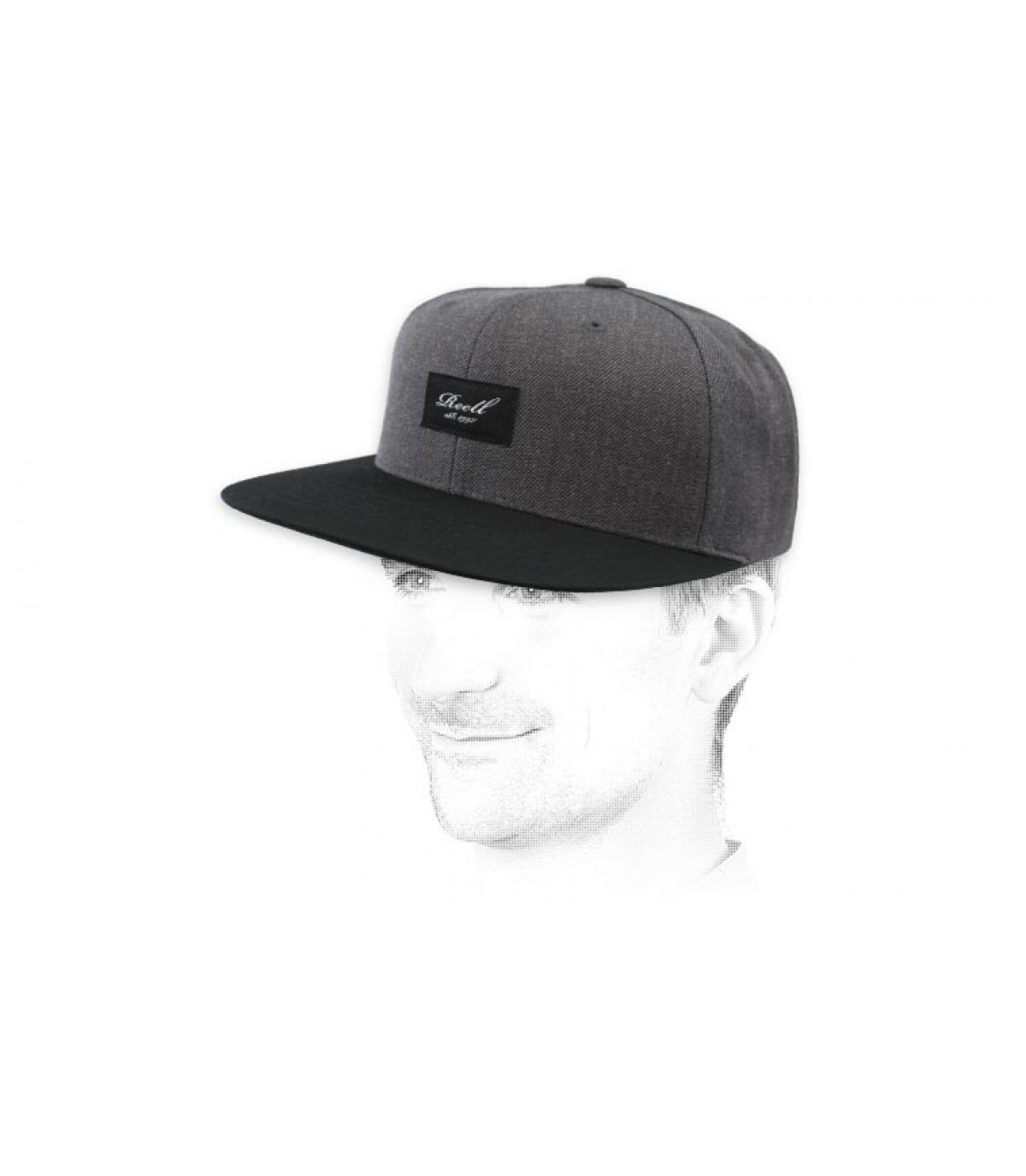 Reell snapback grey