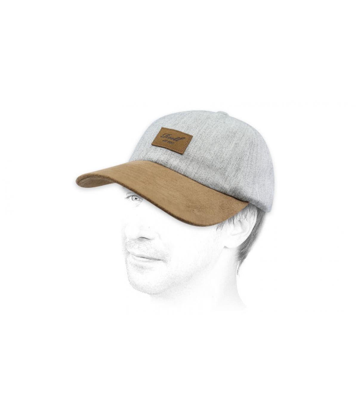 grey Reell cap patch