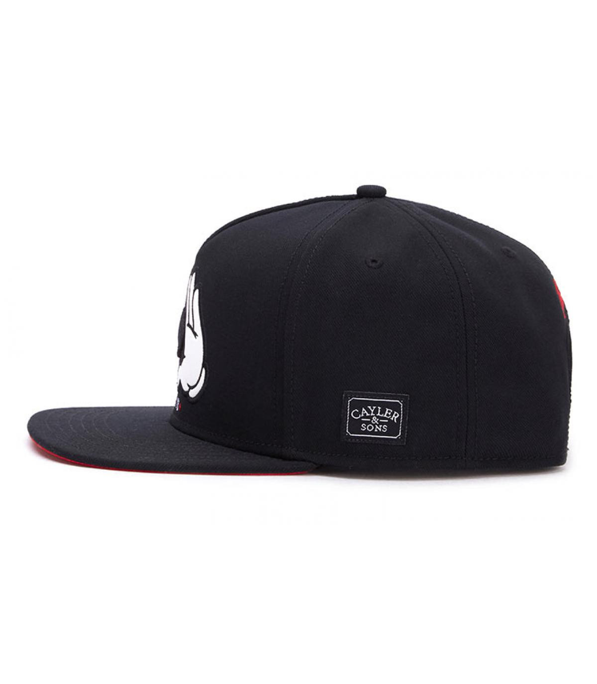 0927dfe64ab all in black Cayler snapback - All In Snapback black by Cayler and ...