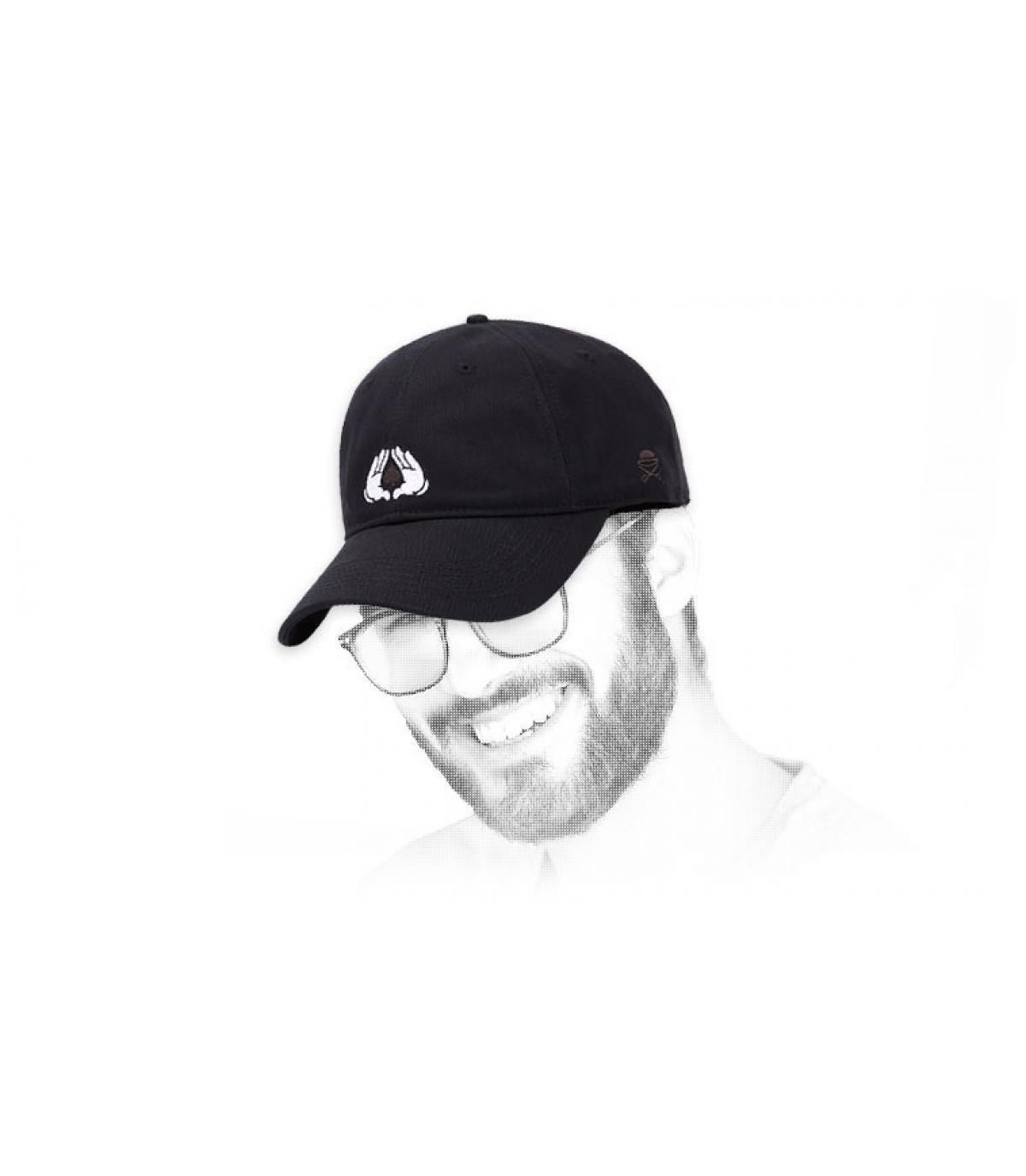 all in black Cayler cap