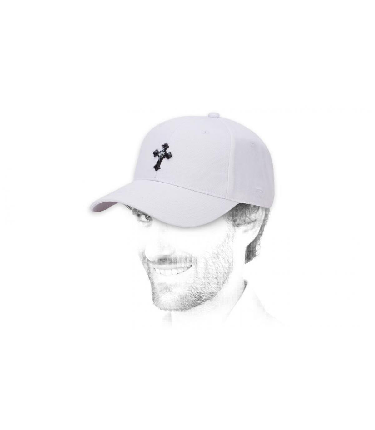 white Marley cap