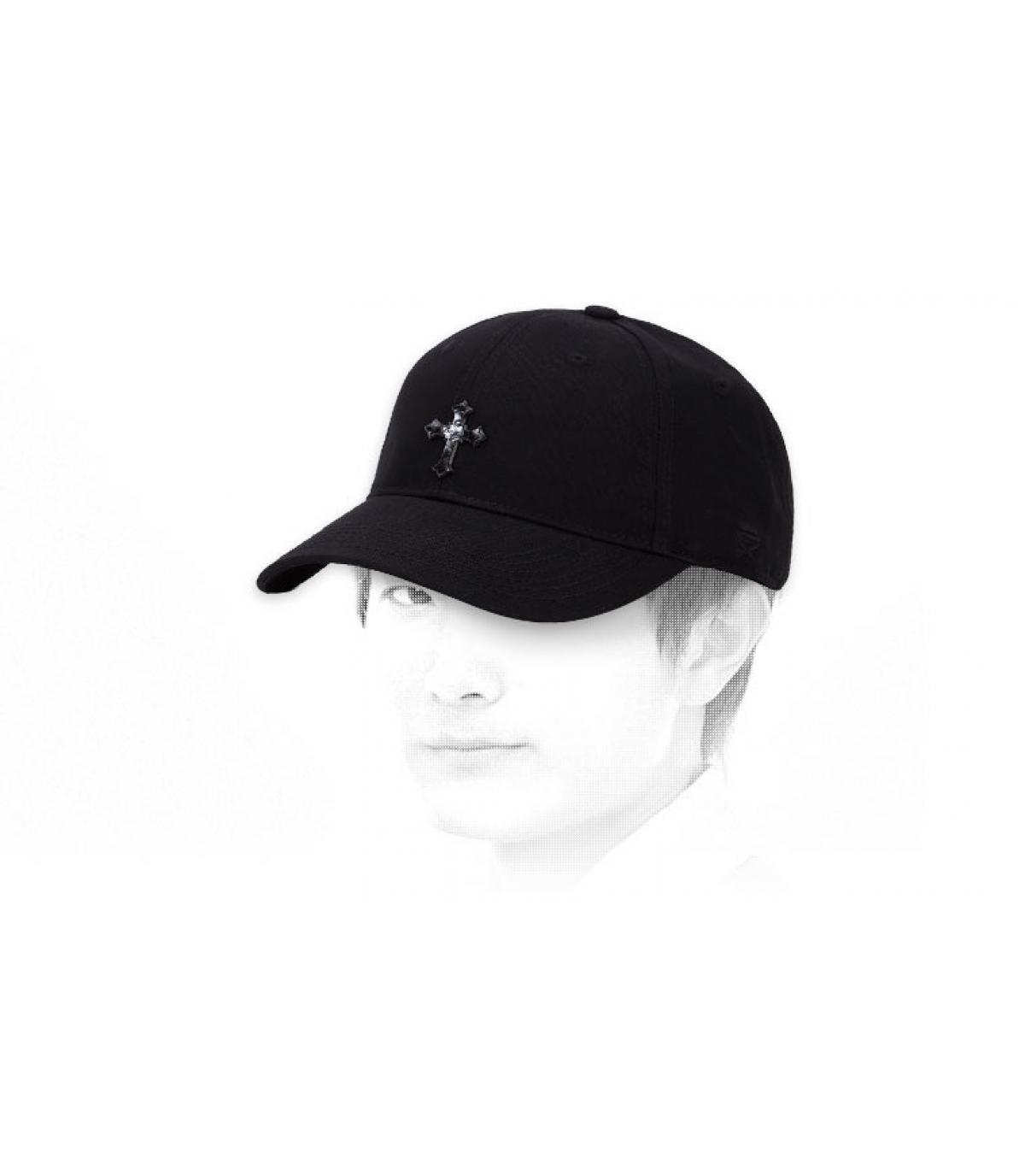 black Marley cap
