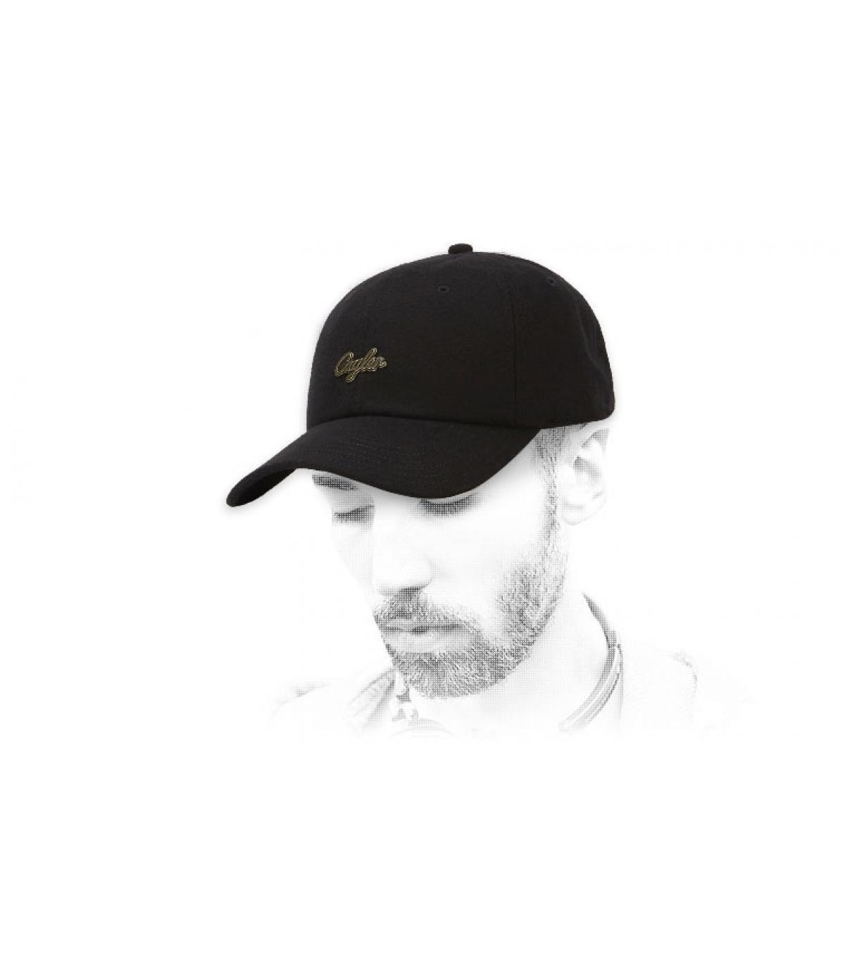 black Cayler wool cap