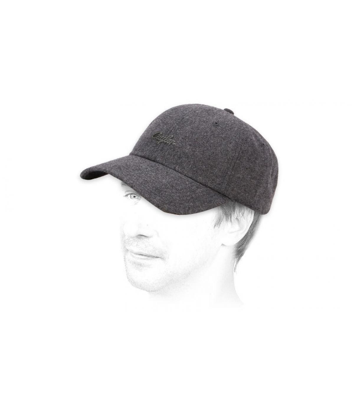 grey Cayler wool cap