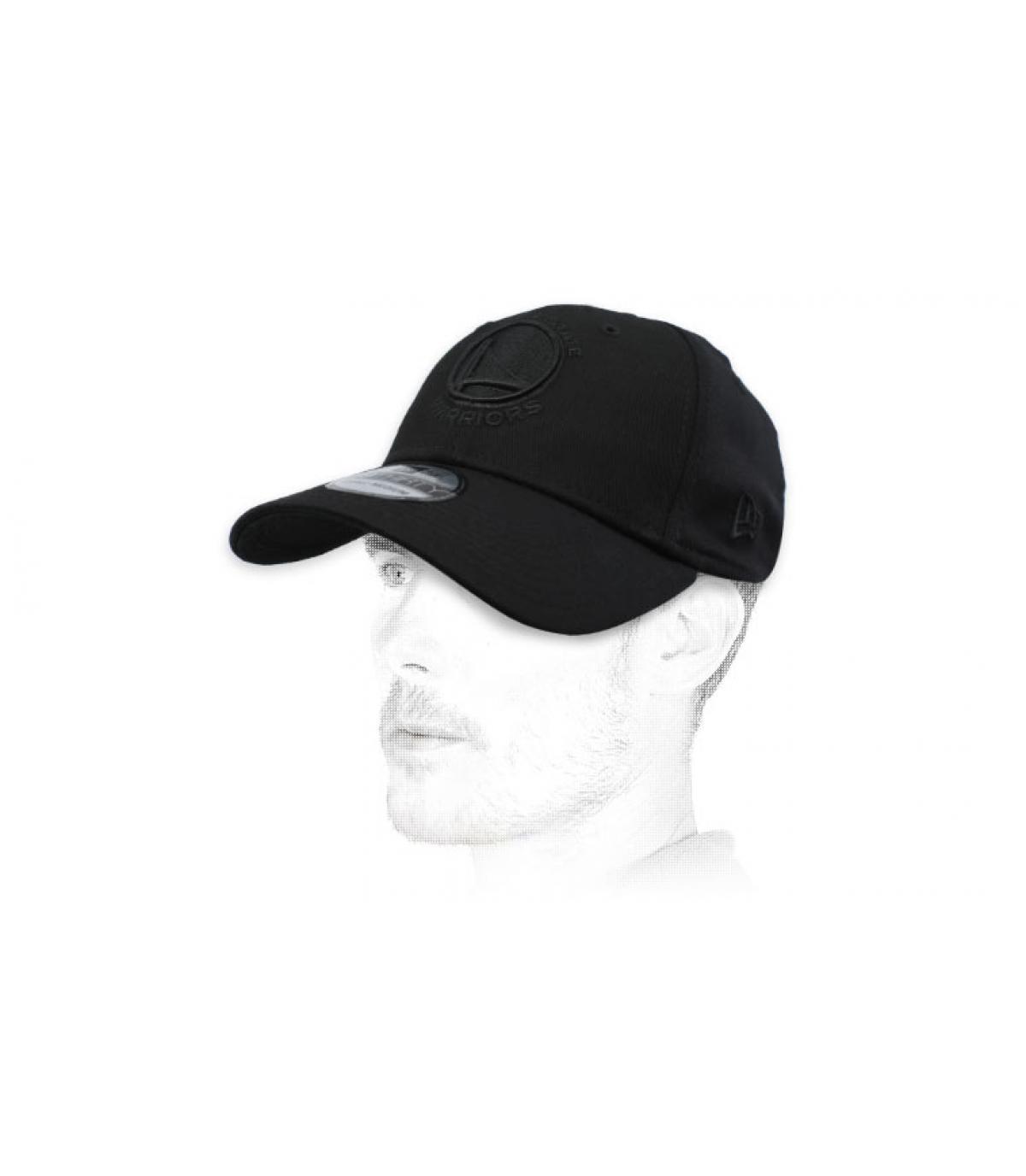 black Warriors cap