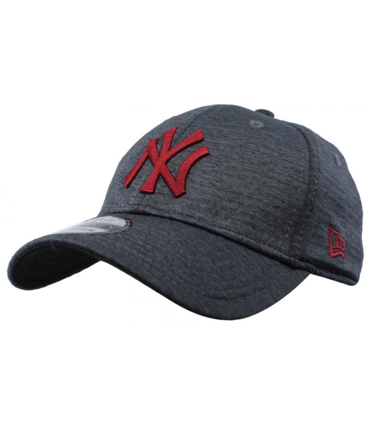 996bff646f4c black grey NY cap - NY Dryswitch Jersey 39Thirty black cardinal by ...