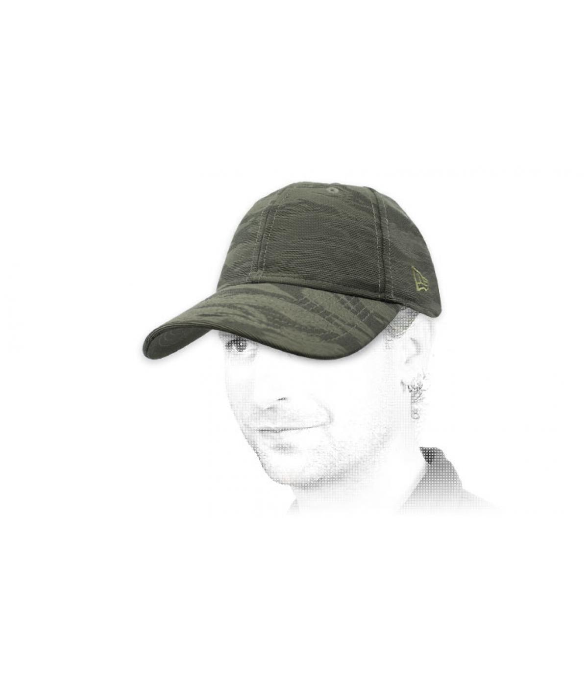 grey camo New Era cap