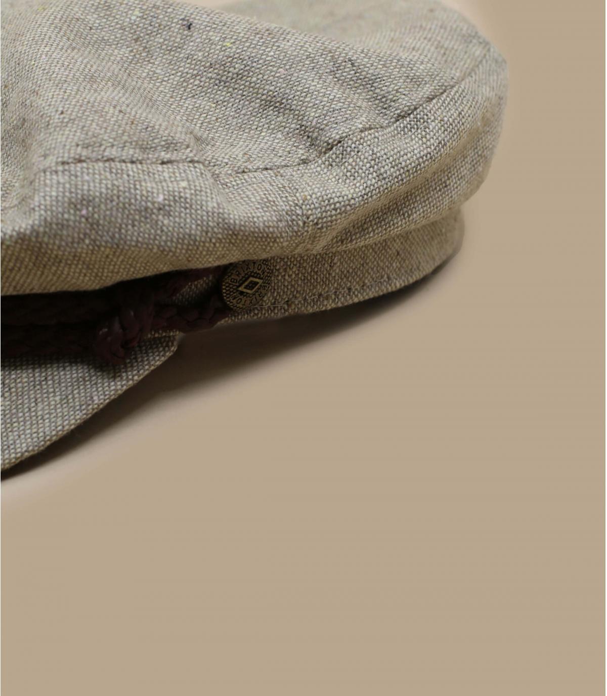 beige fisherman cap