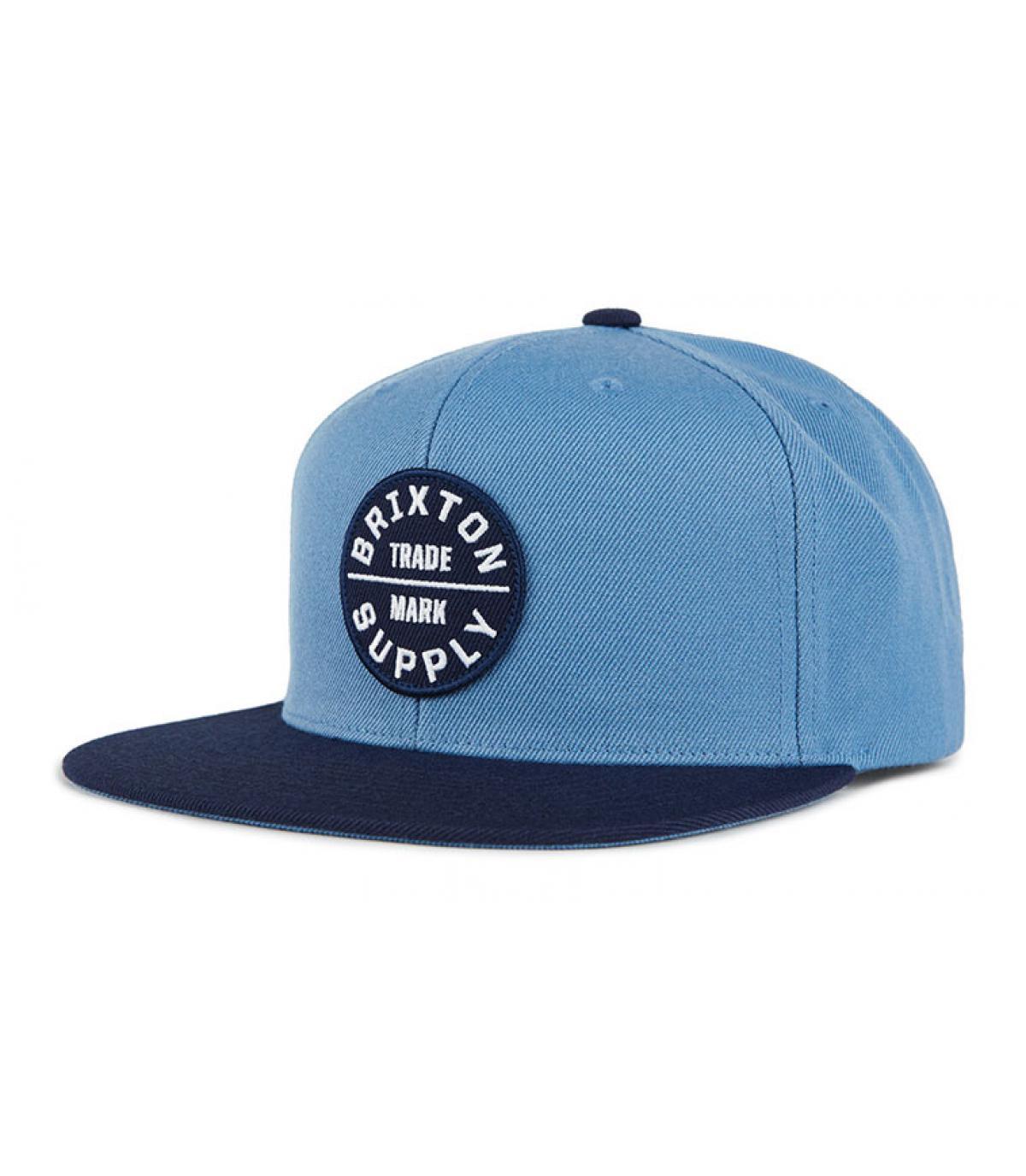 snapback Brixton blue