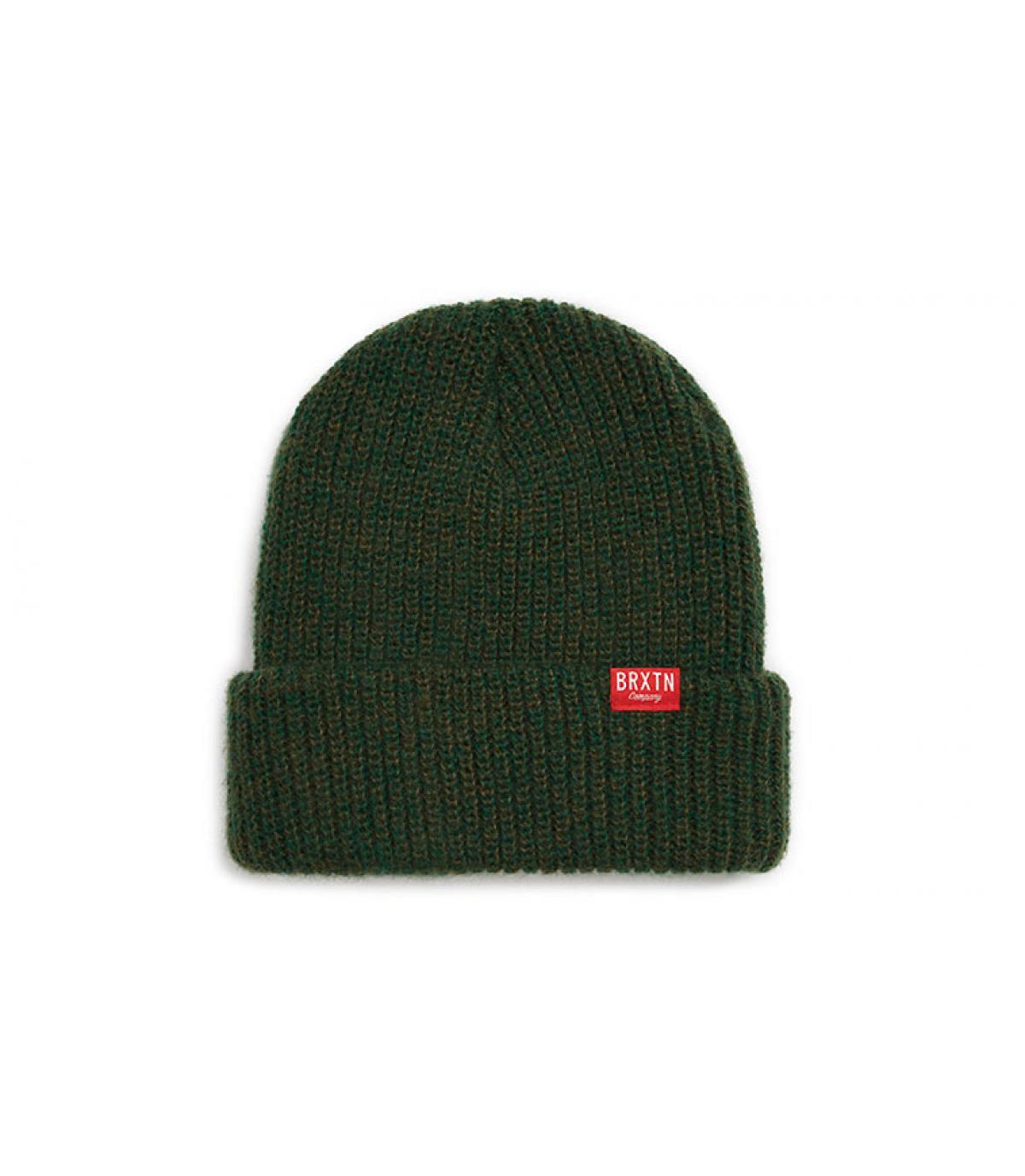 e5233ffa4a3f47 dark green beanie Brixton. Détails Redmond Beanie forest green - image 3;  Détails Redmond Beanie forest green - image ...