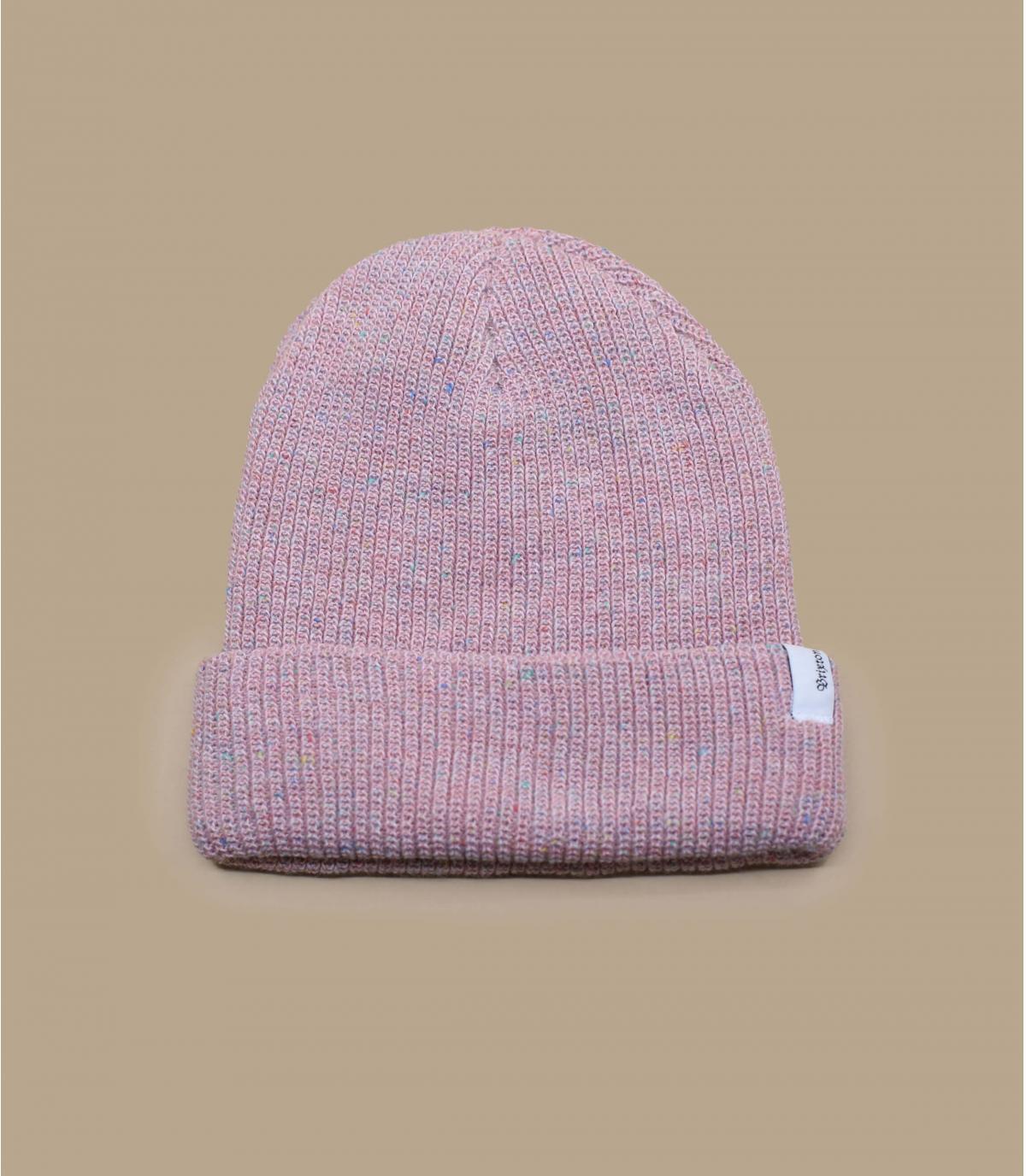 Brixton pink beanie