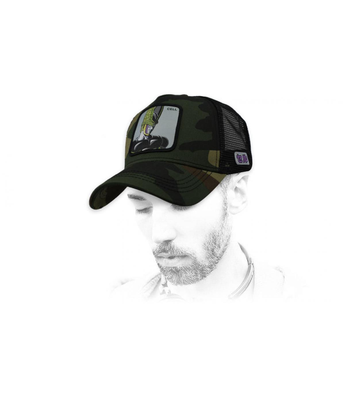 black DBZ Cell cap