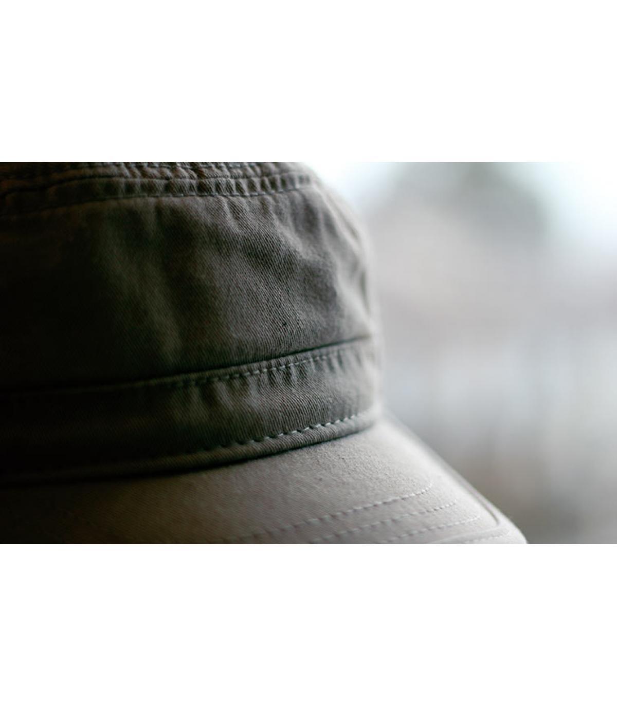 Basic khaki army cap