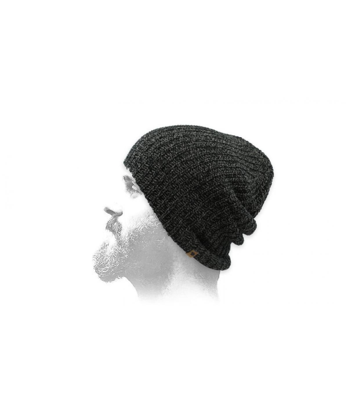 black long beanie Fjällräven