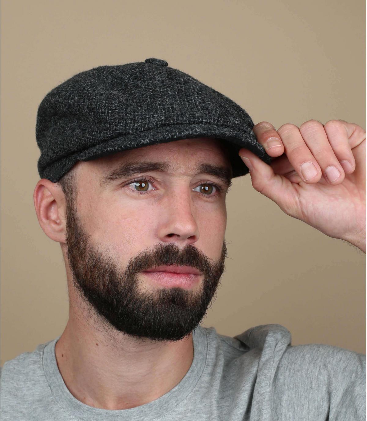 newsboy cap Shetland wool